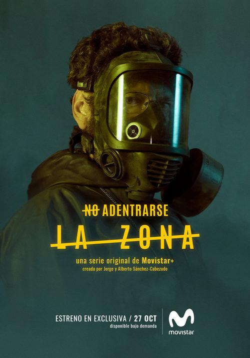 Manolo Solo como Alfredo Asunción en los carteles de 'La Zona'