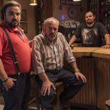 Primera imagen de Tito Valverde, Iván Cozar y Franky Martín en 'Matadero'