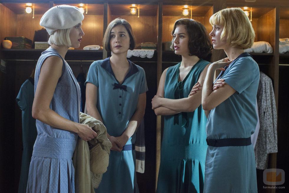 Las protagonistas de 'Las chicas del cable' hablan entre ellas