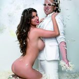 Simona, concursante de 'GH 17', desnuda junto a Torito para Primera Línea