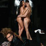 Simona, concursante de 'GH 17', posa desnuda junto a su novio en Primera Línea, en compañía de Torito