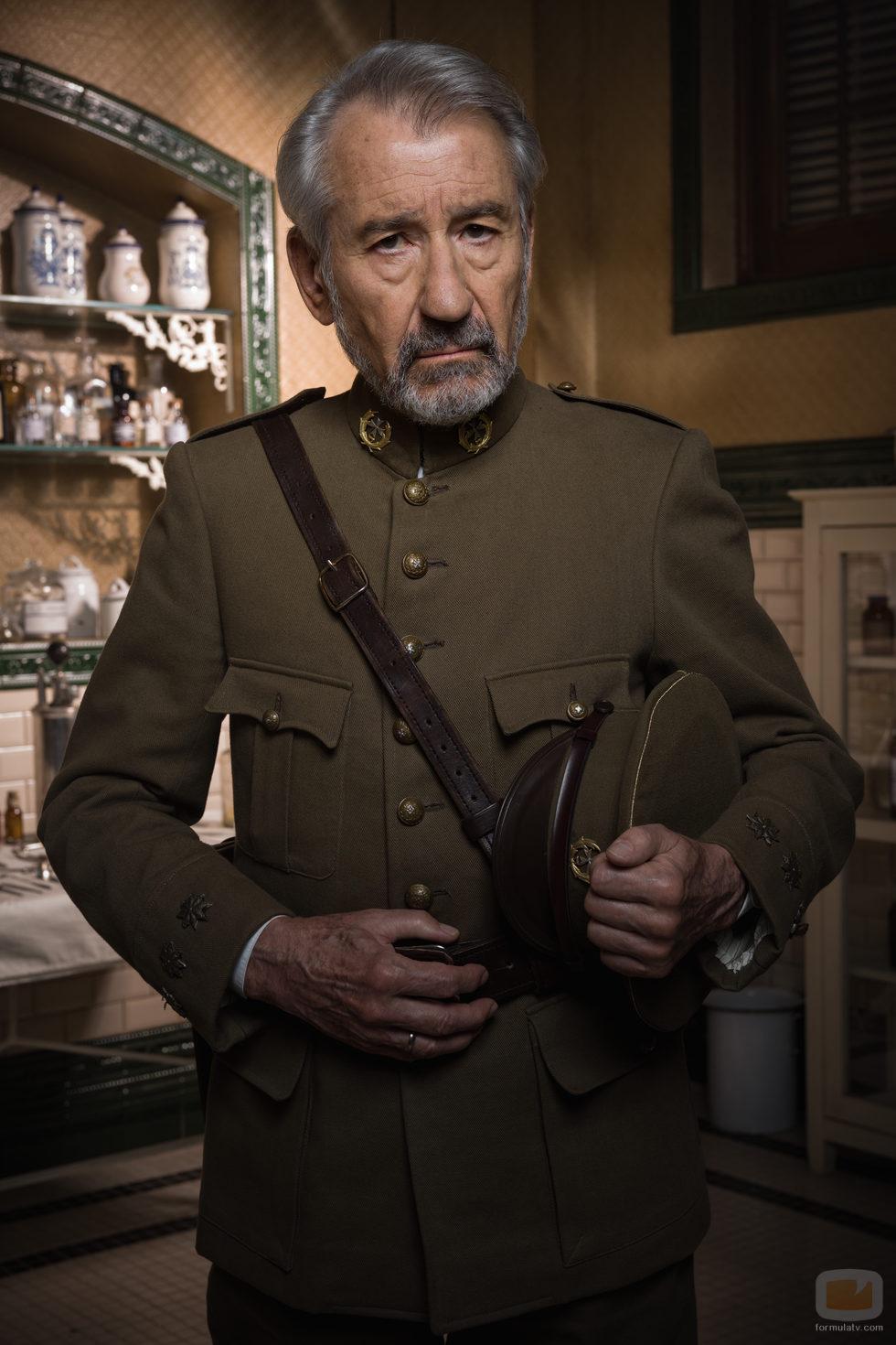 José Sacristán interpreta a Vicente en 'Tiempos de Guerra'