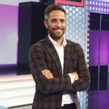 El presentador Roberto Leal en el plató de 'OT 2017'