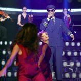 Fran Dieli es Gnarls Barkley en la gala 4 de 'Tu cara me suena 6'