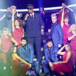 Fran Dieli interpreta a  Gnarls Barkley en la gala 4 de 'Tu cara me suena 6'