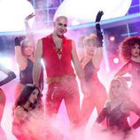 David amor interpreta a Right Said Fred  en la gala 4 de 'Tu cara me suena 6'