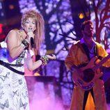 Lucía Jiménez es Cyndi Lauper en la gala 4 de 'Tu cara me suena 6'