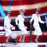 Lucía Gil es Christina Aguilera en la gala 4 de 'Tu cara me suena 6'