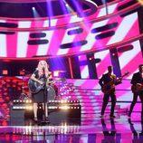 Paula Rojo es Elle King en la gala 4 de 'Tu cara me suena 6'