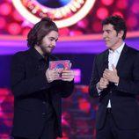 Manel Fuentes y Miquel Fernández en la gala 4 de 'Tu cara me suena 6'