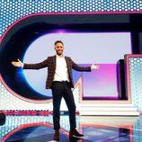 Roberto Leal ante el logo de 'OT 2017'