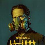 Sergio Peris-Mencheta como Aurelio Barrero en los carteles de 'La zona'