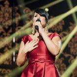 Rosa López actúa durante la gala 0 de 'OT 2017'
