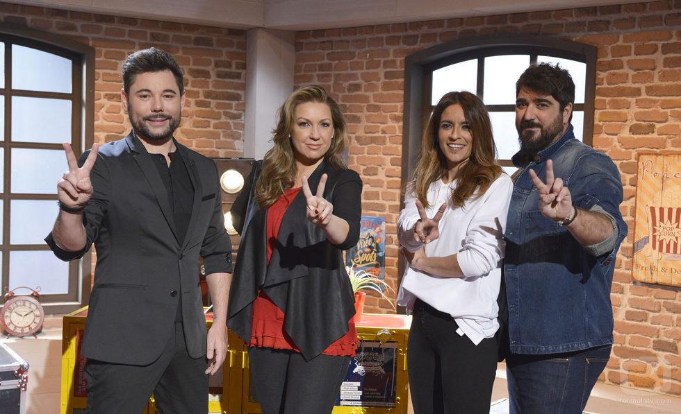 Miguel Poveda, Bebe, Antonio Orozco y Niña Pastori, asesores de 'La Voz 5'