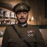 Vicente Romero es el Comandante Silva en 'Tiempos de guerra'