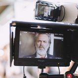 José Coronado, en el rodaje de la serie 'Vivir sin permiso'