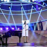 Diana Navarro es SIA en la quinta gala de 'Tu cara me suena'