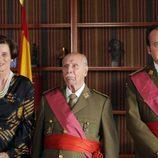 Vicky Peña, Manuel Alexandre y Fernando Cayo