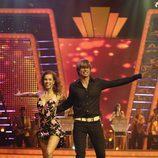 Carlos Baute bailando en la 'Gala FAO Mira quién baila'
