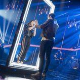 """Aitana Ocaña y Luis Cepeda en la gala 1 de 'OT 2017' cantando """"No puedo vivir sin ti"""""""