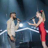 "Juan Antonio Zaira y Mireya Bravo cantan ""Corre"" en la gala 1 de 'OT 2017'"
