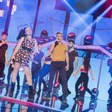 """Thalía y Raoul actúan al ritmo de """"Cake by the Ocean"""" en la gala 1 de 'OT 2017'"""