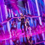 """Becky G fue la invitada especial de la gala 1 de 'OT 2017' cantando """"Mayores"""""""