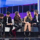 Ricky, Mimi, Ana y Roi, nominados de la gala 1 de 'OT 2017'