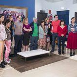 Los vecinos de Mirador de Montepinar en la junta de vecinos en el quinto episodio de la décima temporada de 'La que se avecina'