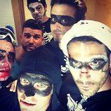 Miguel Ángel Silvestre y sus amigos celebran Halloween 2017