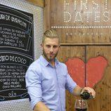 Matías Roure en el nuevo restaurante de 'First Dates'