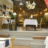 Nueva zona superior en el restaurante de 'First Dates