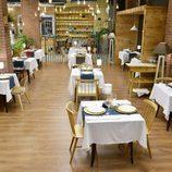Salón principal del nuevo restaurante de 'First Dates'