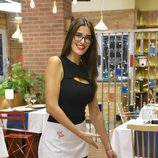 Lidia Torrent posa en el nuevo restaurante de 'First Dates'