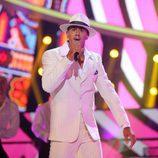 David Amor es Lou Vega en la gala 6 de 'Tu cara me suena 6'