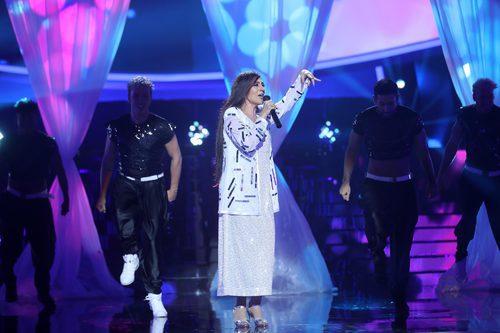 Pepa Aniorte es Daniela Romo en la gala 6 de 'Tu cara me suena 6'