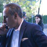 Julio Bracho en una escena de la serie 'Fugitiva'