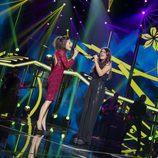 """Ana y Amaia interpretan el tema """"Todas las flores"""" en la Gala 2 de 'OT 2017'"""