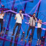 """Cepeda y Juan Antonio interpretan """"Reggaeton lento"""" en la Gala 2 de 'OT 2017'"""