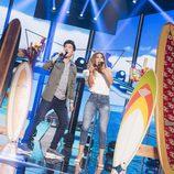 """Roi y Miriam cantan """"Malibu"""" en la Gala 2 de 'OT 2017'"""