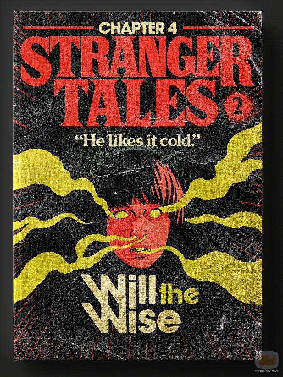 Capítulo 4 de la segunda temporada de 'Stranger Things' como si fuera un libro