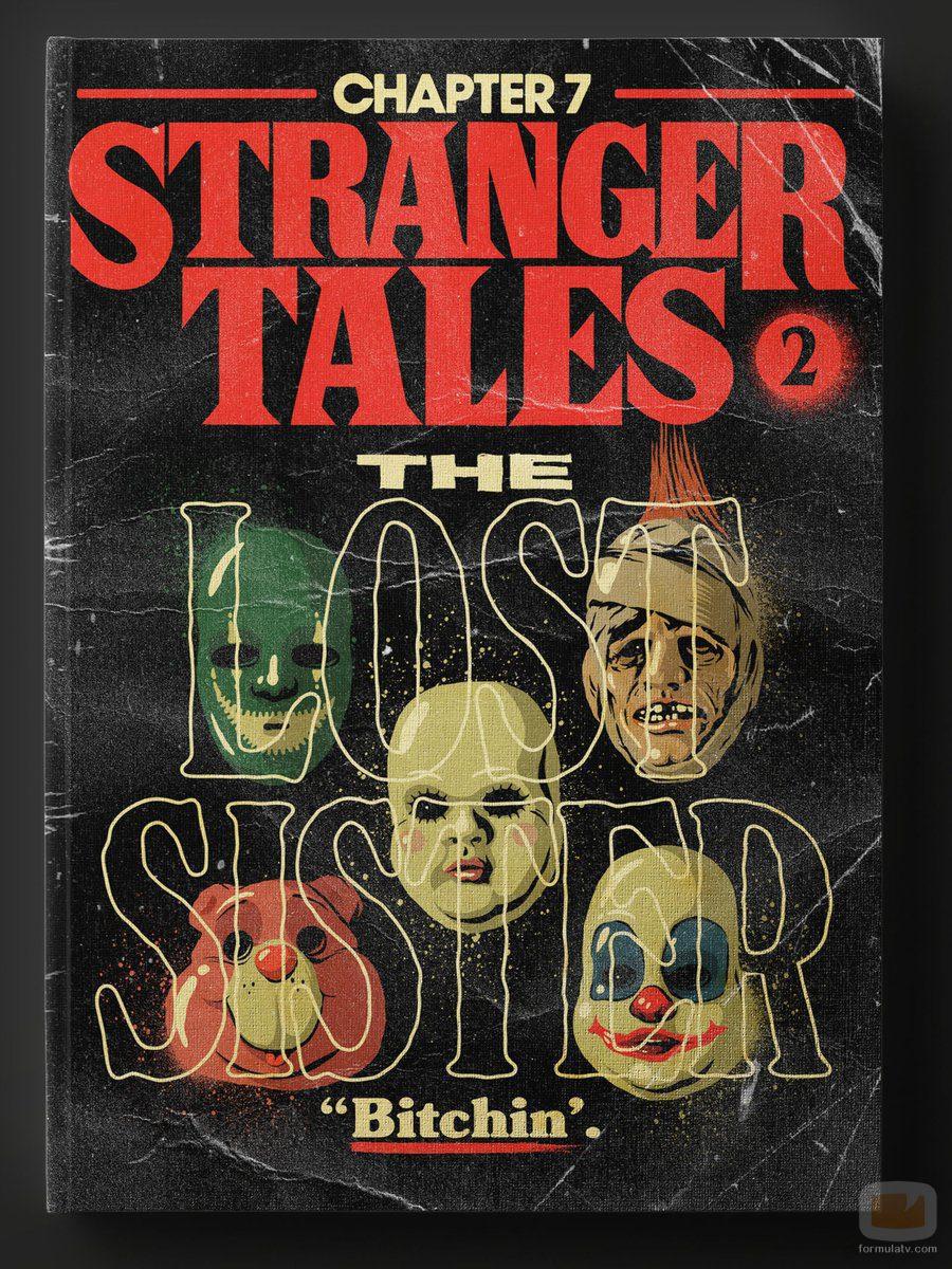 Capítulo 7 de la segunda temporada de 'Stranger Things' como si fuera un libro