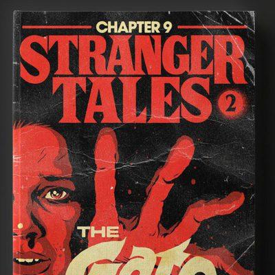 Las portadas de 'Stranger Things' si la segunda temporada fuesen libros