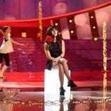 Ares Teixidó, invitada especial, se viste de Rozalén en la gala 7 de 'Tu cara me suena'