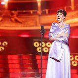 Diana Navarro interpreta a María Callas en la gala 7 de 'Tu cara me suena'
