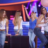 Lucía Gil canta con Conchita en la gala 7 de 'Tu cara me suena'