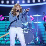 Lucía Jiménez se pone en la piel de Sheryl Crow en la gala 7 de 'Tu cara me suena'