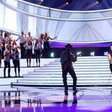 Miquel Fernández es Bono en la gala 7 de 'Tu cara me suena'