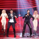Pepa Aniorte imita a David Civera en la gala 7 de 'Tu cara me suena'