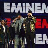 Eminen recoge su premio en los MTV EMAs 2017